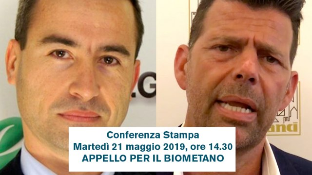 "Conferenza stampa ""Appello per il biometano"""